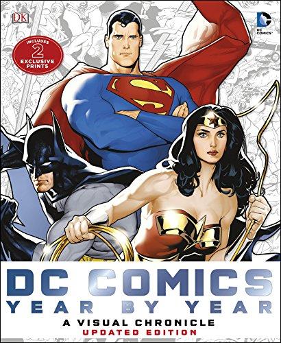 Dc Comics Year by Year A Visual Chronicle: A Visual History (Hardback): Matthew K. Manning, Alan ...