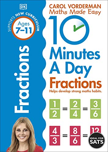9780241182321: 10 Minutes A Day. Fractions. Ages 7-11
