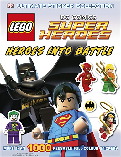 9780241182895: Lego Dc Super Heroes Heroes Into Battle. Ultimate Sticker Collection (Ultimate Stickers)