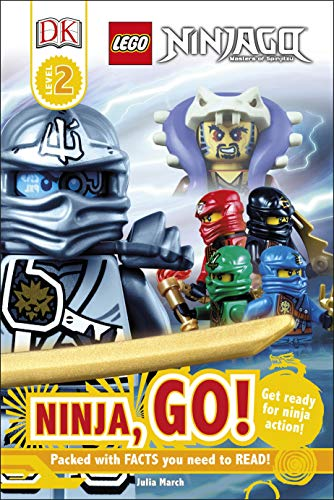 9780241183670: LEGO Ninjago Ninja, Go! (DK Reads Beginning to Read)