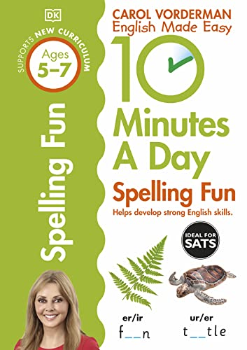 9780241183847: 10 Minutes a Day Spelling Fun (Carol Vorderman's English Made Easy)