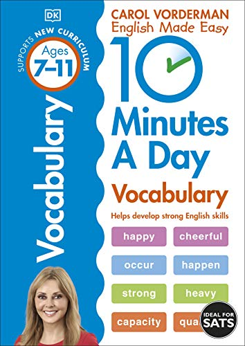 9780241183854: 10 Minutes a Day Vocabulary (Carol Vorderman's English Made Easy)