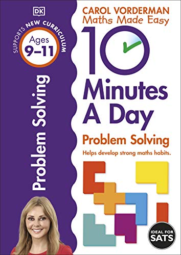 9780241183878: 10 Minutes. A Day Problem Solving. Ages 9-11 (Maths Made Easy Ks2)