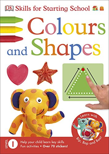 9780241184592: Get Ready for School Colours and Shapes