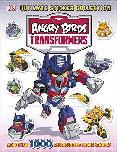 9780241184738: Angry Birds Transformers Ultimate Sticker Collection (Ultimate Stickers)