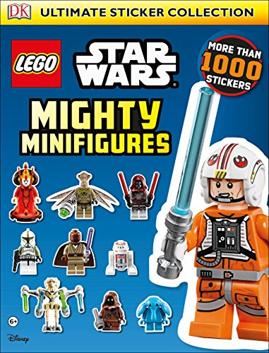 9780241195840: LEGO® Star Wars Mighty Minifigures Ultimate Sticker Collection (Ultimate Stickers)