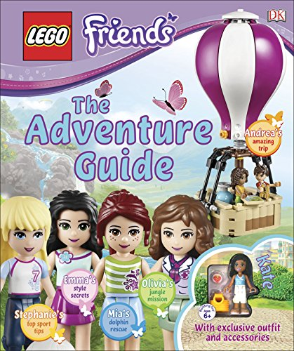 9780241196571: Lego Friends the Adventure Guide