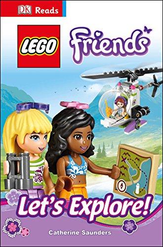 9780241196793: Lego. Friends. Let's Explore! (Dk Reads Reading Alone)
