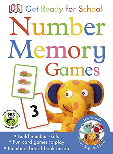9780241197844: Get Ready For School Number Memory Games