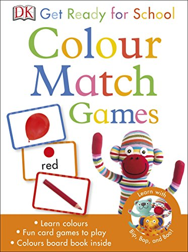9780241197851: Get Ready For School Colour Match Games