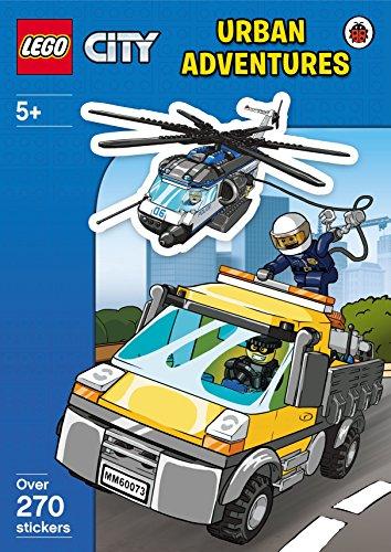 9780241198025: LEGO City: Urban Adventures Sticker Activity Book