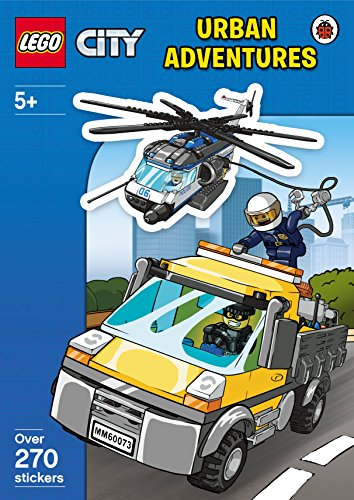 9780241198025: LEGO CITY: Urban Adventures Sticker Activity Book