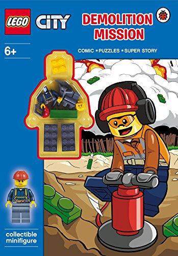 9780241198032: LEGO CITY: Demolition Mission Activity Book with Minifigure