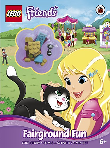 9780241198056: LEGO Friends: Fairground Fun Activity Book with Miniset