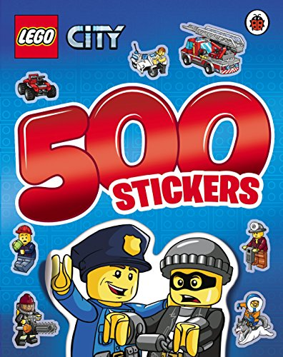 9780241198087: LEGO CITY: 500 Stickers Activity Book
