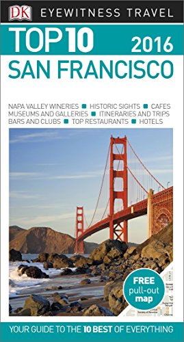 9780241198513: DK Eyewitness Top 10 Travel Guide: San Francisco