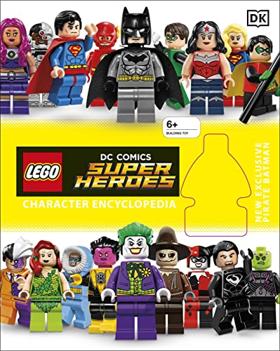 9780241199312: LEGO DC Super Heroes Character Encyclopedia