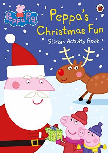 9780241200414: Peppa Pig: Peppa's Christmas Fun Sticker Activity Book