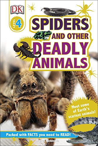 9780241225059: Spiders and Other Deadly Animals (DK Readers Level 4)