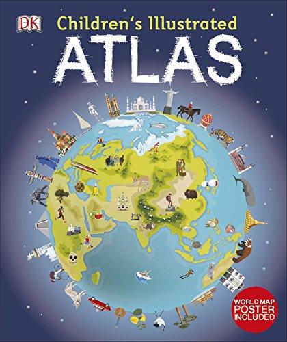 Children's Illustrated Atlas (Dk Childrens Atlas): Brooks, Andrew