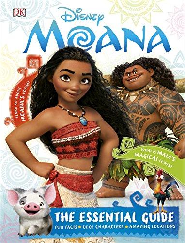 9780241232293: Disney Moana The Essential Guide (Dk Disney)