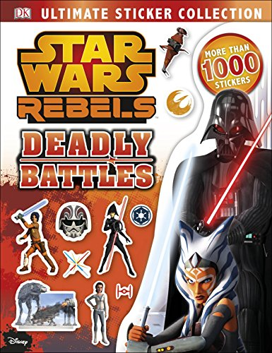 9780241232521: Star Wars Rebels Ultimate Sticker Collection: Deadly Battles