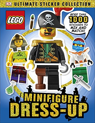 9780241237243: LEGO Minifigure Dress-Up! Ultimate Sticker Collection