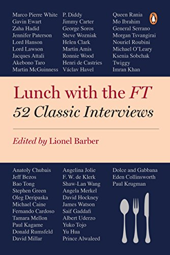 9780241239469: Lunch with the FT: 52 Classic Interviews