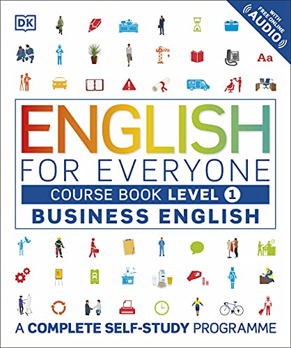 9780241242346: English for Everyone Business English Course Book Level 1: A Complete Self-Study Programme