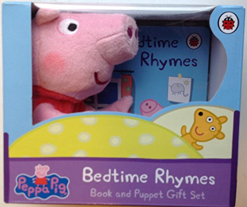 9780241244692: Peppa Pig'S Bedtime Rhymes Book and Puppet Gift Set