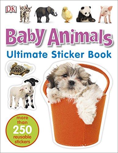 9780241247259: Baby Animals. Ultimate Sticker Book
