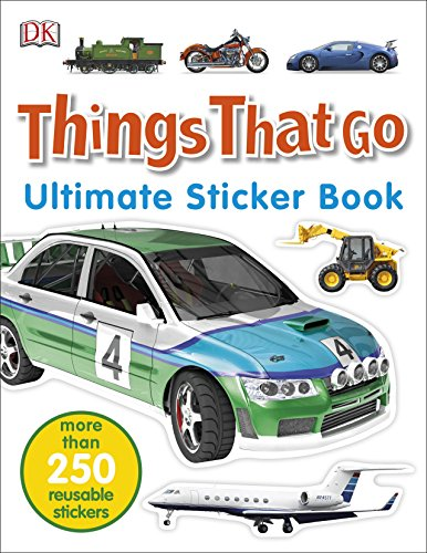 9780241247273: Things That Go. Ultimate Sticker Book