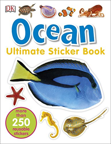 9780241247280: Ocean. Ultimate Sticker Book