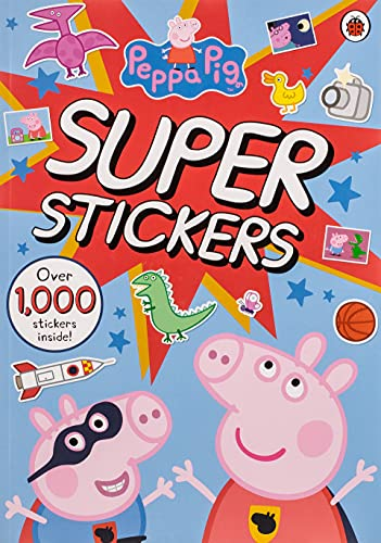 9780241252673: Peppa Pig Super Stickers Activity Book