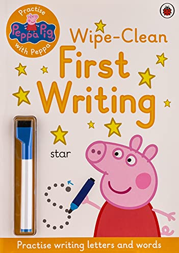 9780241254028: Peppa Pig. Wipe-Clean First Writing