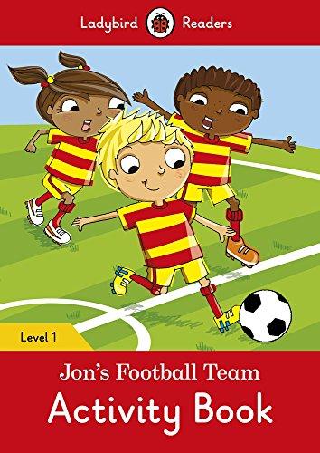 9780241254219: JON'S FOOTBALL TEAM ACTIVITY BOOK (LB) (Ladybird)