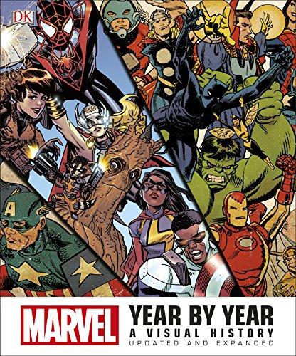 Marvel Year by Year - A Visual: DK