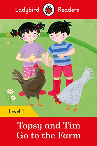 9780241283554: Topsy And Tim. Go To The Farm - Level 1 (Ladybird Readers Level 1)