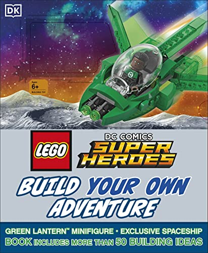 LEGO DC Comics Super Heroes Build Your Own Adventure: With exclusive model and Minifigure