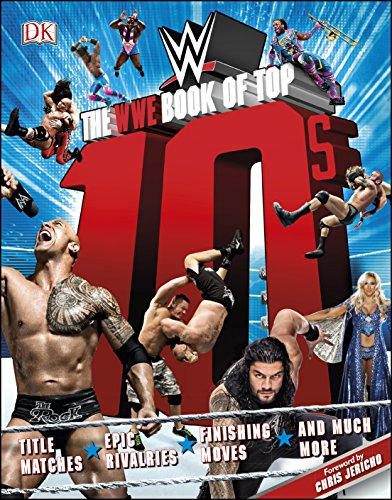 The WWE Book of Top 10s (Hardback)