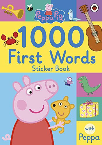 9780241294642: Peppa Pig. 1000 First Words Sticker Book