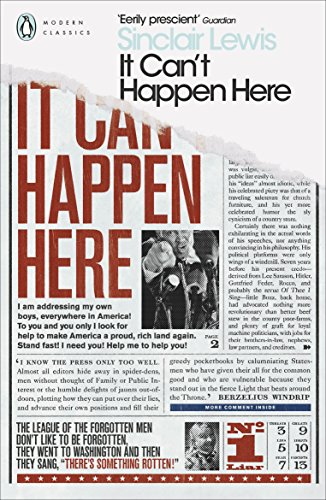 It Can t Happen Here (Paperback): Sinclair Lewis