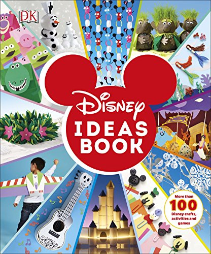 9780241314210: Disney Ideas Book: More than 100 Disney Crafts, Activities, and Games