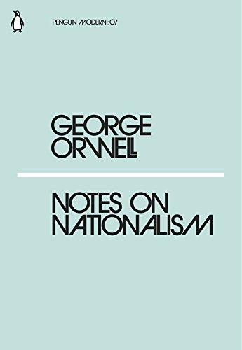 Notes on Nationalism (Paperback)