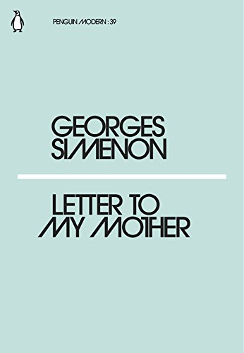Letter to My Mother (Paperback): Georges Simenon