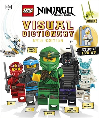 9780241363768: Lego Ninjago Visual Dictionary: With Exclusive Teen Wu Minifigure