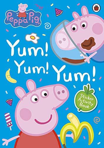 9780241371664: Peppa Pig. Yum, Yum, Yum! Sticker Scenes