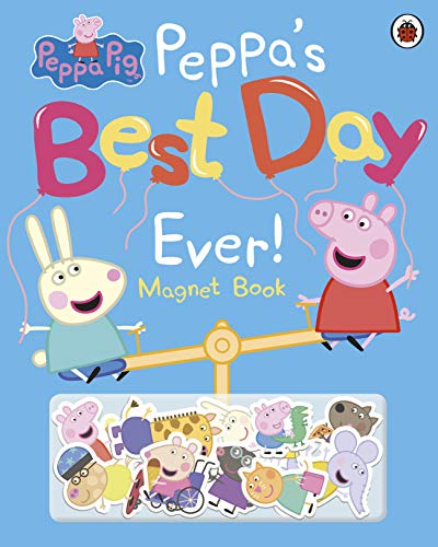 9780241412022: Peppa Pig: Peppa's Best Day Ever: Magnet Book