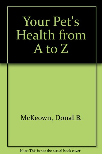 9780241890936: Your Pet's Health from A to Z