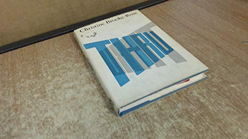 Thru: Brooke-Rose, Christine